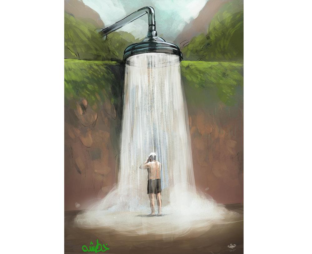 اصفهانیها در مصرف آب اسراف نمیکنند