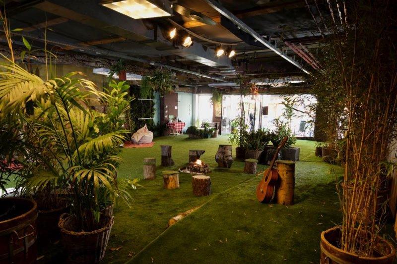 تبدیل فروشگاه به پارک در آمستردام