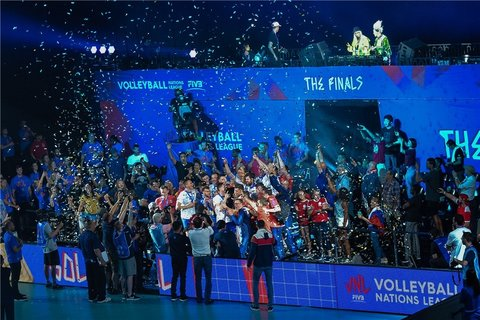 روسیه فاتح لیگ ملت های والیبال ۲۰۱۹
