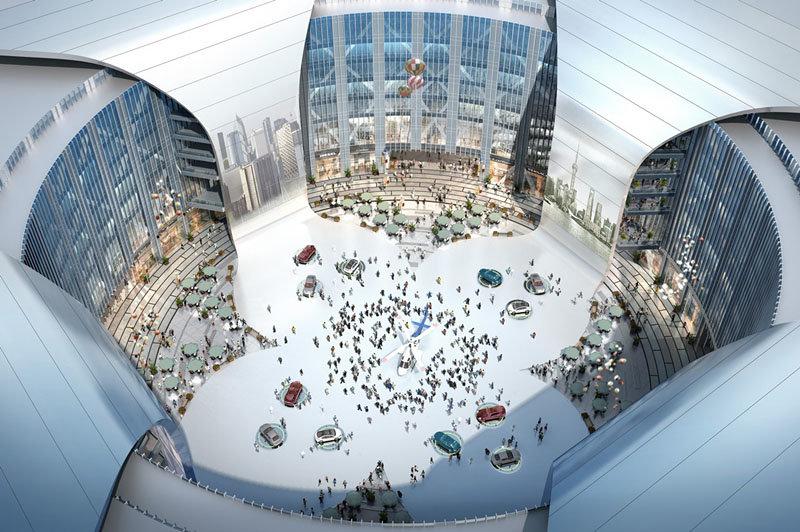 بزرگترین مرکز نمایشگاهی چین در شانگهای