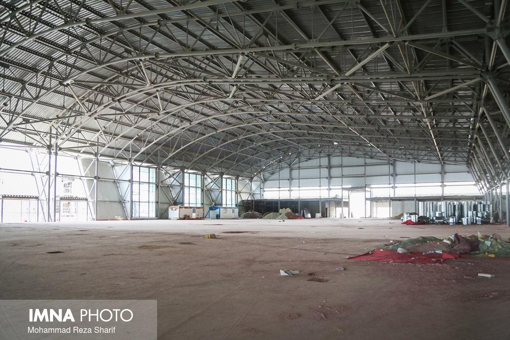 ساخت سالن چندمنظوره در شهرک امامحسین(ع) گلستان