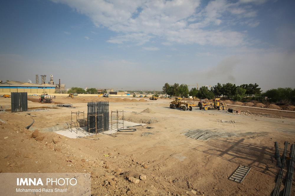اتمام عملیات خاکبرداری پارک خطی مهرشهر بیرجند