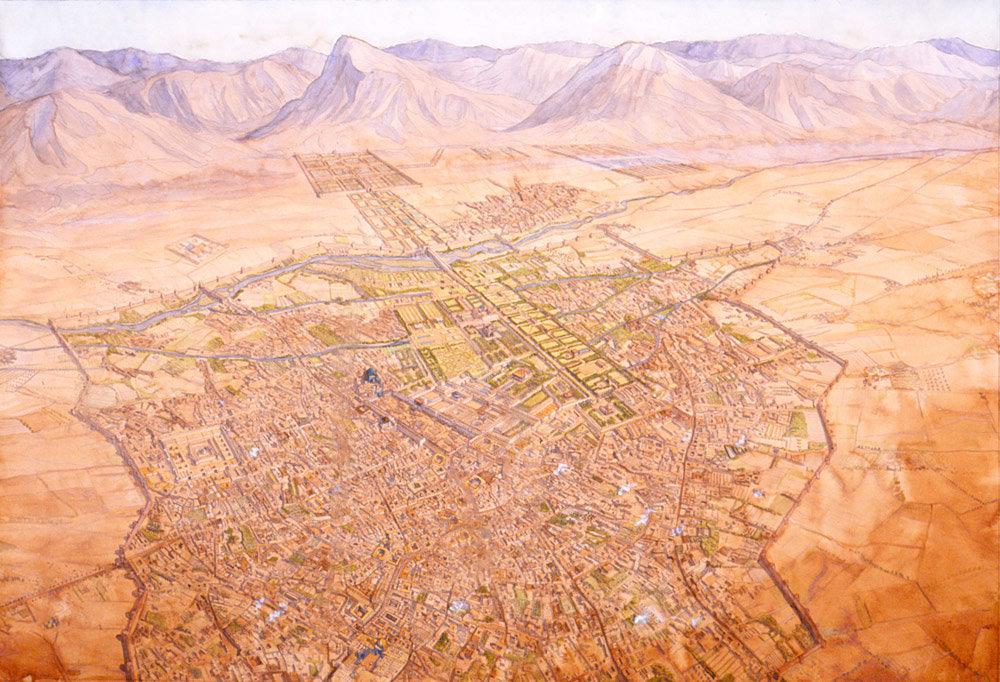 نگاهی به طرح جامع شهری اصفهان در زمان صفویه
