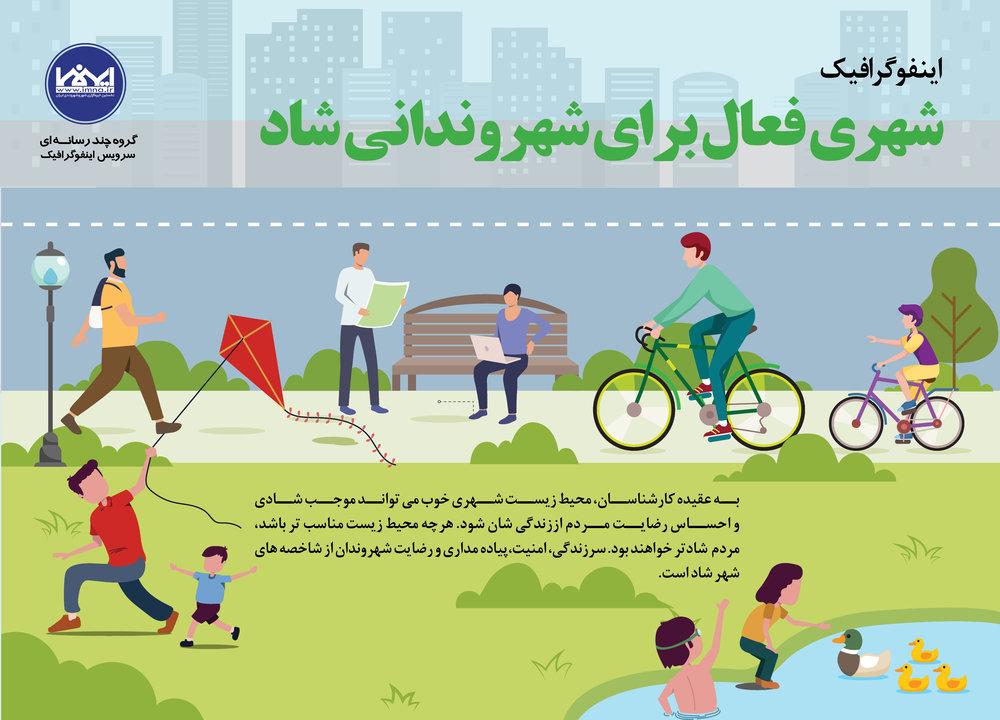 شهری فعال برای شهروندانی شاد