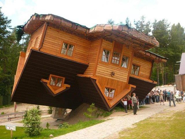 خانه وارونه در زکوپانا لهستان