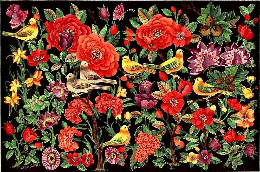 معشوقی به نام گل سرخ، عاشقی با نوای بلبل