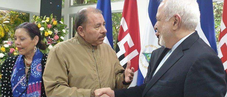 ظریف با رییس جمهور نیکاراگوا دیدار کرد