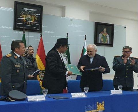 امضای یادداشت تفاهم میان ایران و بولیوی