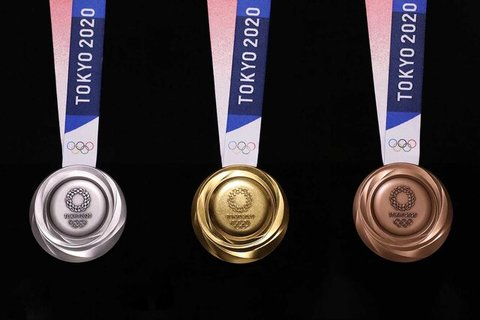 اشکال مدالهای المپیک ۲۰۲۰  مشخص شد + عکس