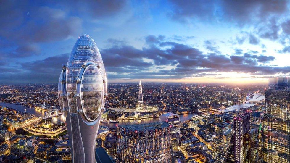 لندن برای جذب گردشگر برج لاله میسازد