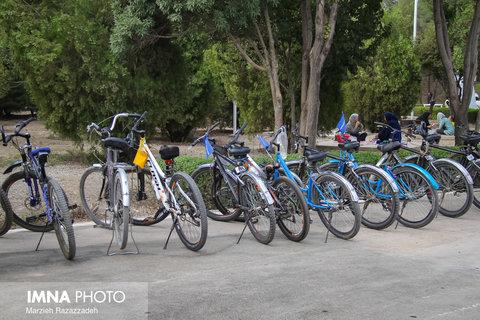 توسعه مسیرهای دوچرخهسواری در قزوین
