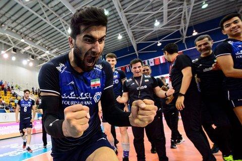 نمایش قدرت والیبالست های ایران در آسیا