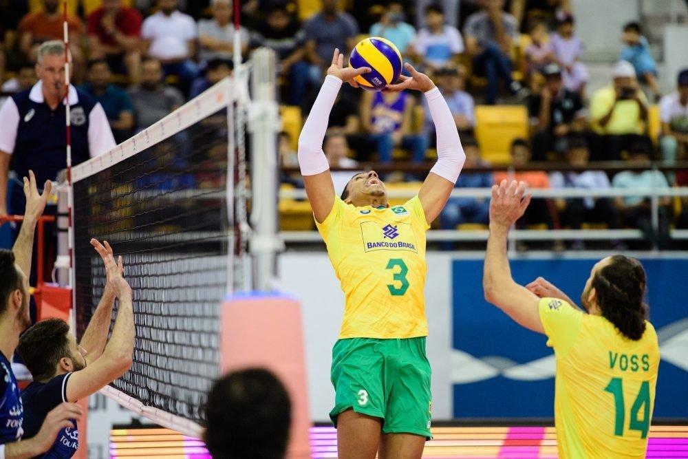 تیم ملی والیبال برزیل قهرمان جام واگنر شد