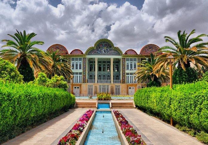 ساخت باغ ایرانی با معماری خاص در شیراز