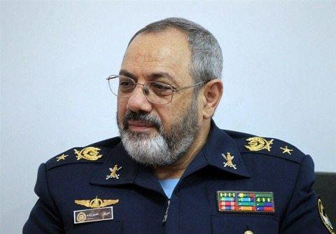 نصیرزاده: نیروی هوایی ارتش کاملا قدرتمند و پاسخگو به تهدیدات است