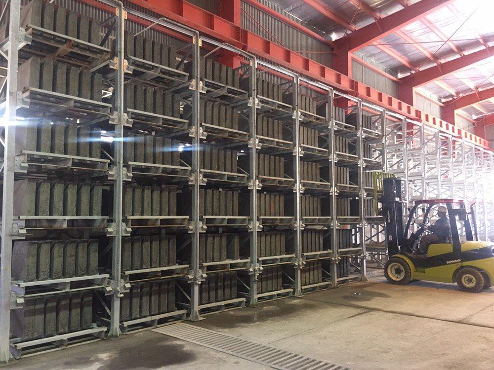 تولید بیش از ۳۸ هزار قالب قطعات پیش ساخته بتنی در سال جاری
