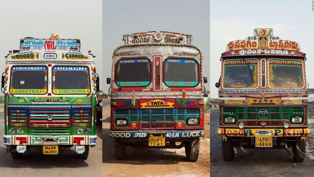هنر کامیونآرایی در هندوستان زنده شد