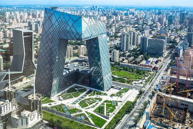 بنایی که قواعد معماری چین را در هم شکست
