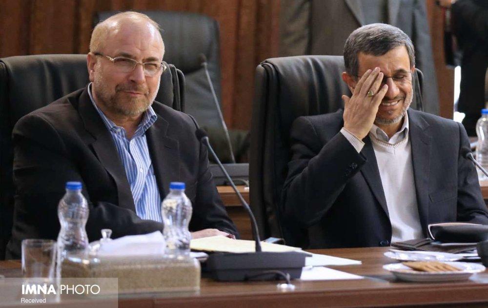 کسی از دیدار احمدینژاد و قالیباف خبر دارد؟