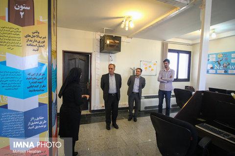 بازدید فرماندار اصفهان از ایمنا