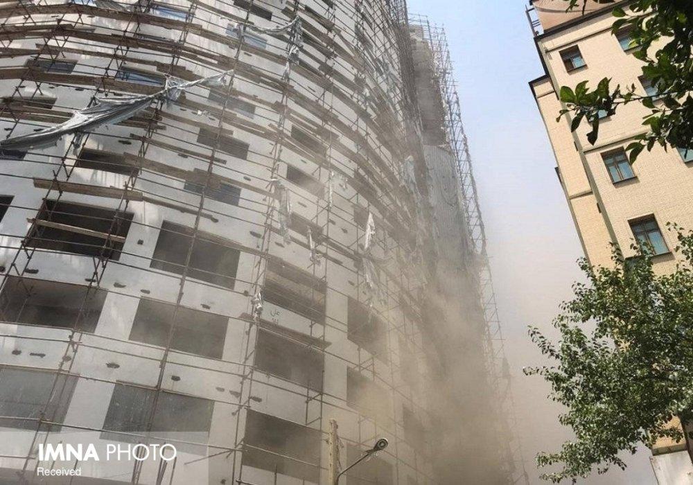 علت آتشسوزی هتل آسمان تا ساعات آینده اعلام میشود
