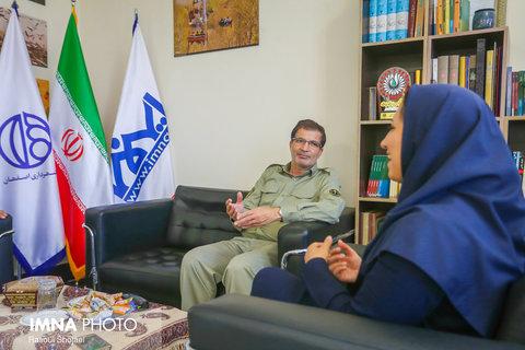 حشمتی مدیر کل حفاظت محیط زیست استان اصفهان