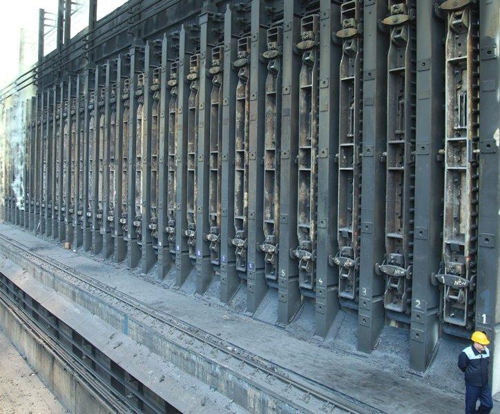 تعویض دربهای باتری کُک سازی ذوب آهن در راستای صنعت سبز