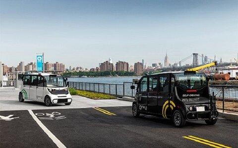 رونمایی از نخستین اتوبوسهای خودران در نیویورک