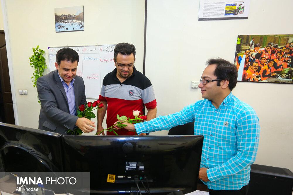 بازدید مدیر منطقه ۱۰ شهرداری اصفهان از ایمنا