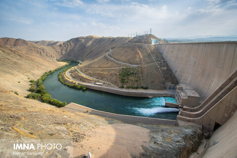 هشدار مدیریت بحران اصفهان با توجه به افزایش خروجی سد زاینده رود