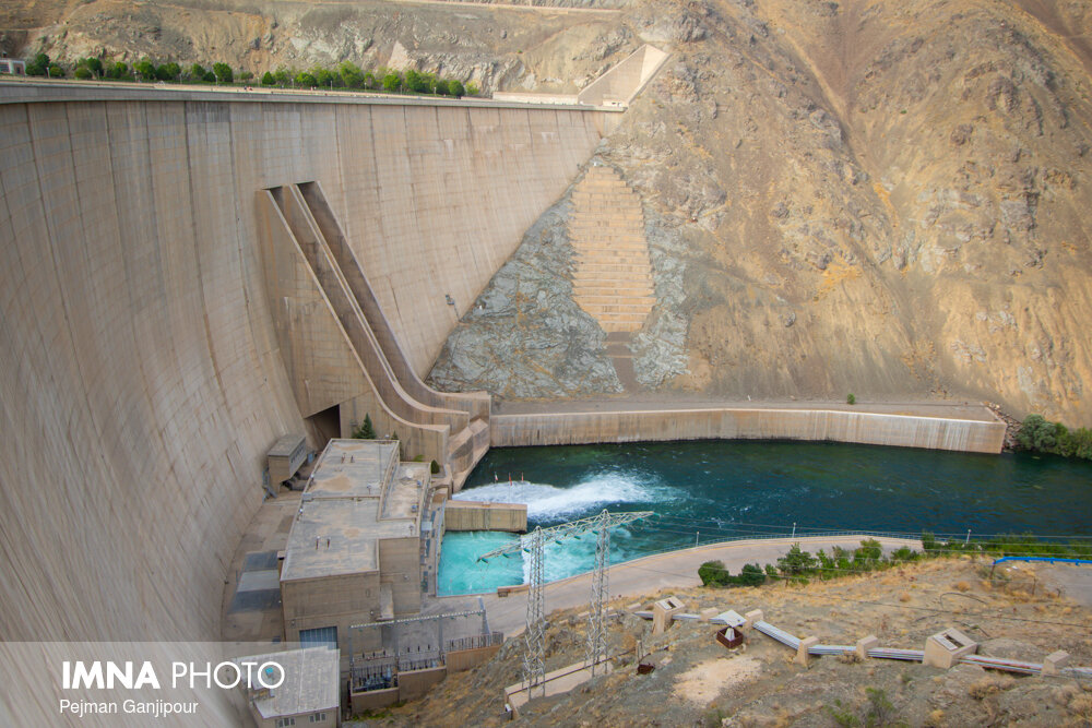 Zayandeh Rood Dam reservoir reached 641 million cubic meters