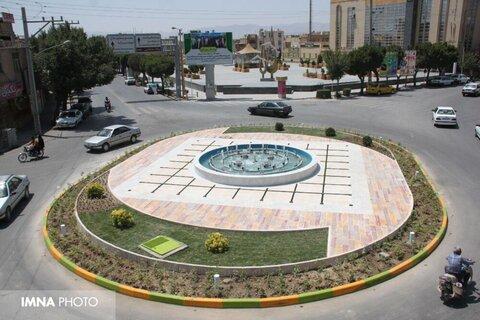 روانسازی ترافیک بافت میانی زرینشهر