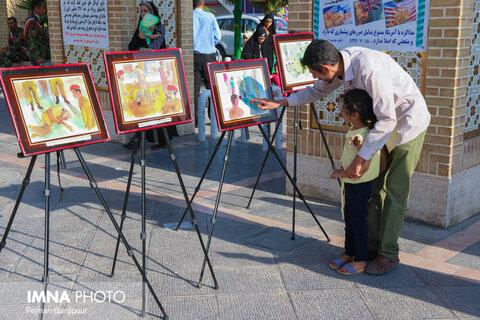 همایش آفتاب نیمه شب به مناسبت ورود آزادگان در گلستان شهدا