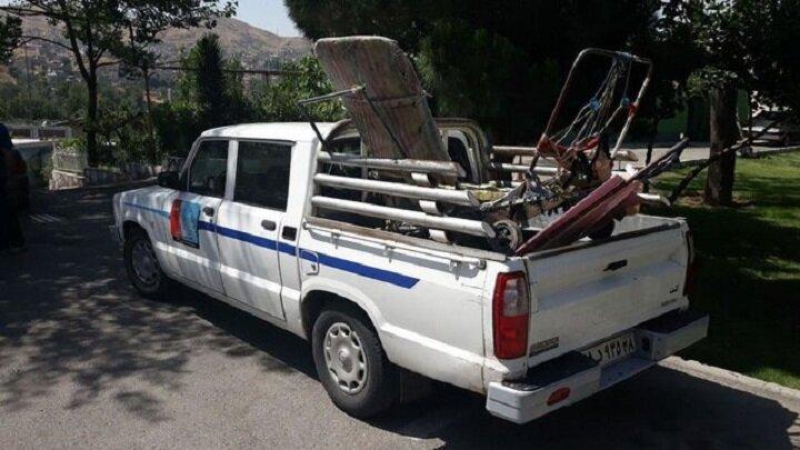 جمعآوری بیش از ۴۹۰ انبار غیرمجاز ضایعات در سطح شهر مشهد