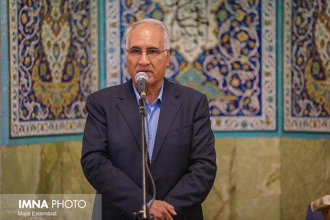 مراسم یادبود جانباز سرافراز حاج حمید طالبی