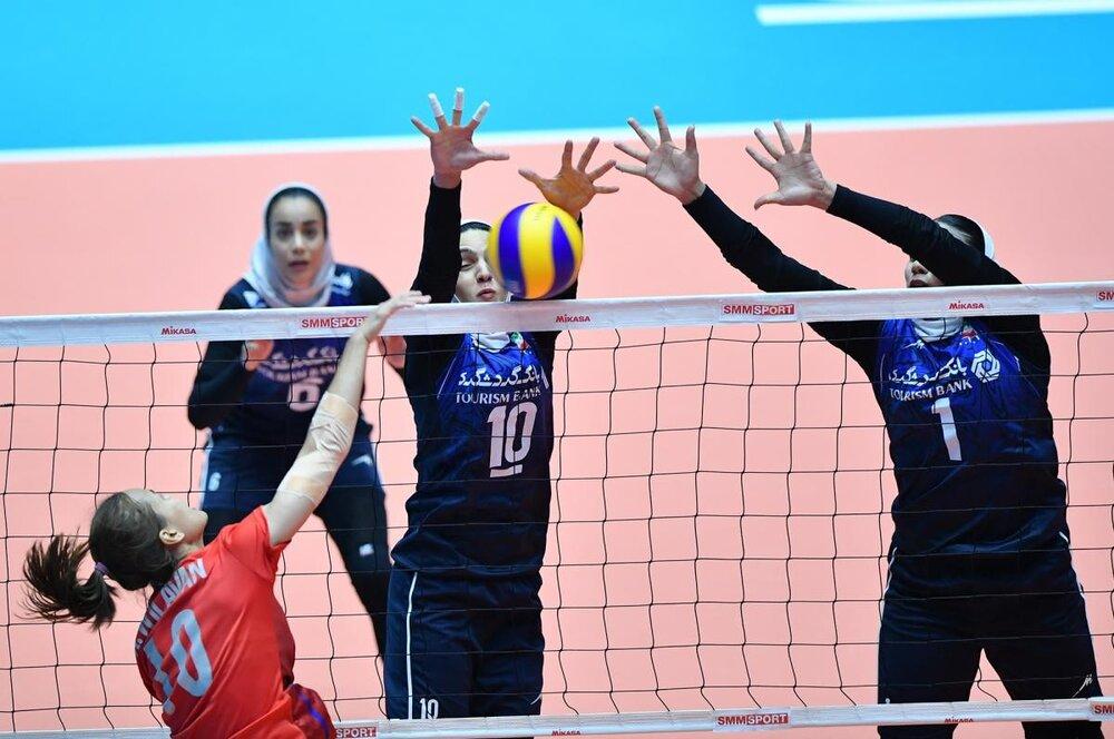 چهارمین شکست والیبال بانوان/ ایران مقابل قزاقستان هم باخت