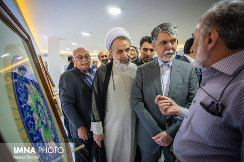 سفر وزیر فرهنگ و ارشاد به اصفهان