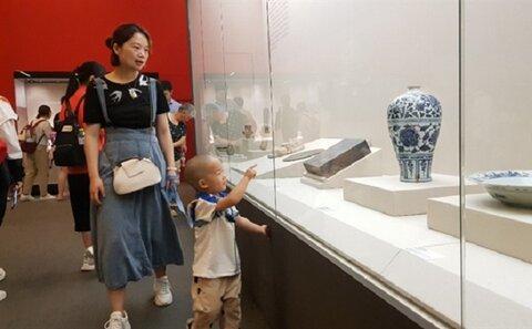 آثار موزه ملی ایران به سلامت از چین بازگشت