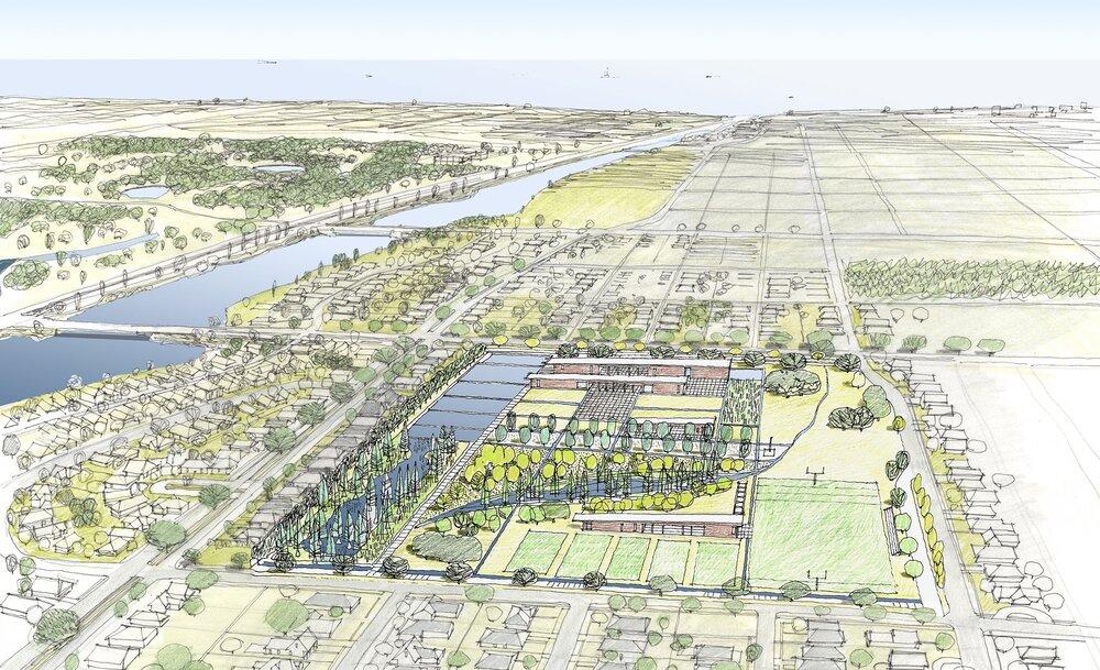 باغ آبی؛ راهکار آمریکا برای مقابله با سیلاب