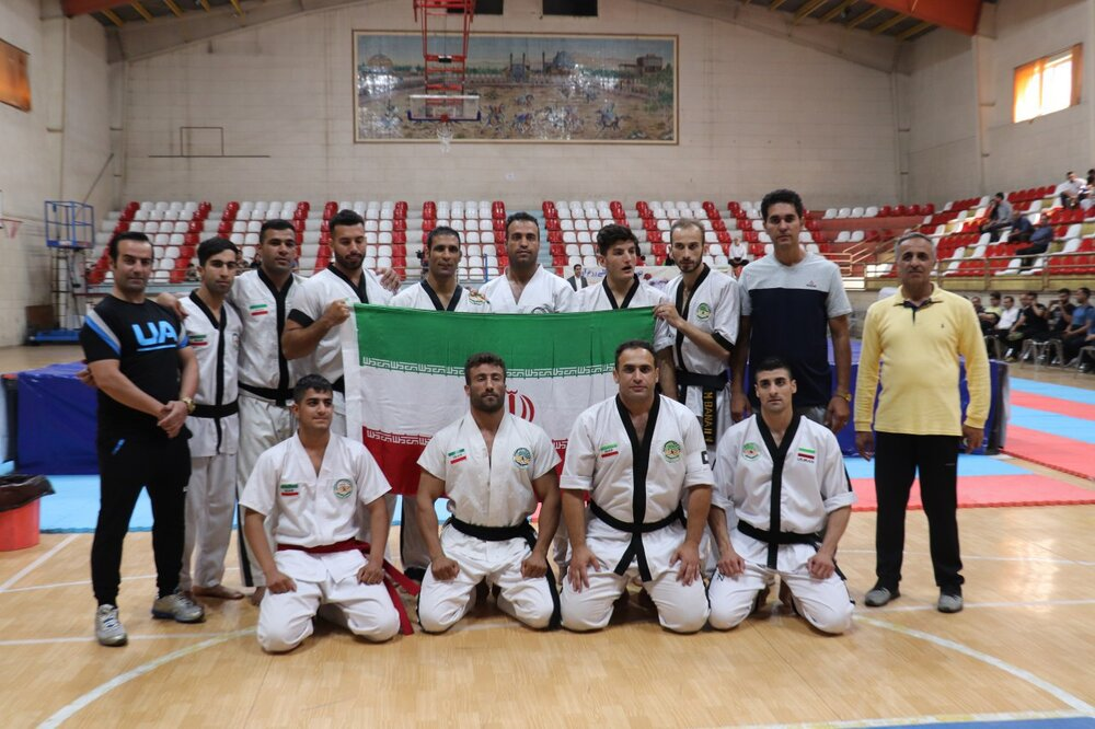 ایران، قهرمان تورنومنت بین المللی رزم آوران
