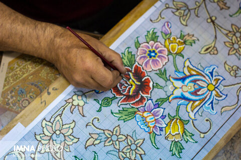 تلفیق اصالت و هنر در فرشهای افسانهای ایران