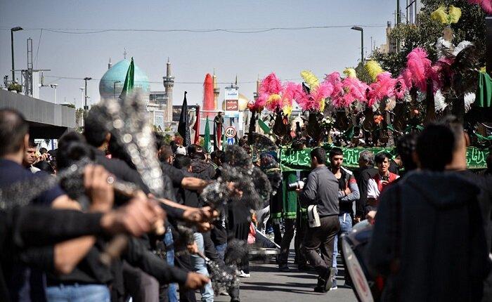 آماده سازی شهر مشهد همزمان با ایام محرم