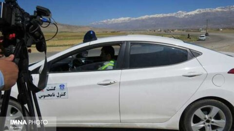 پلیس نامحسوس در زرینشهر فعال شد