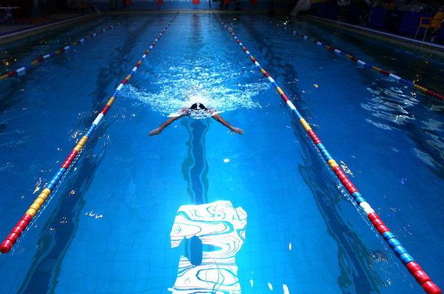 ضیغمینژاد جایگاه نهم ۴۰۰ متر آزاد را به دست آورد