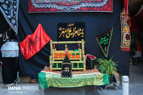 Isfahan clothed in black respecting Muharram
