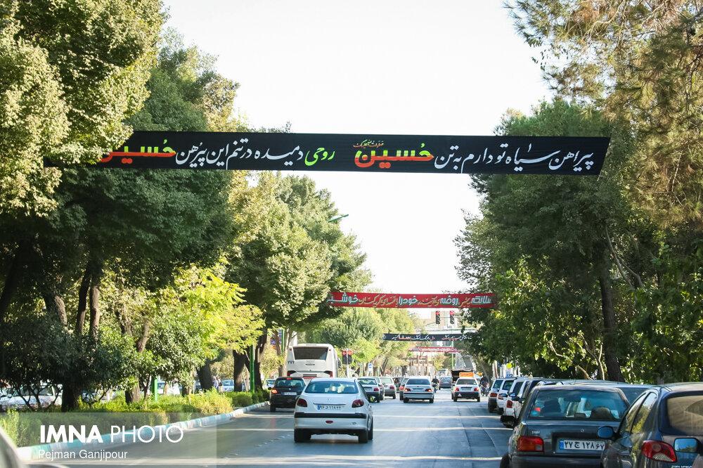 افزایش ۳ برابری فضاسازیهای محرم در شهر زنجان