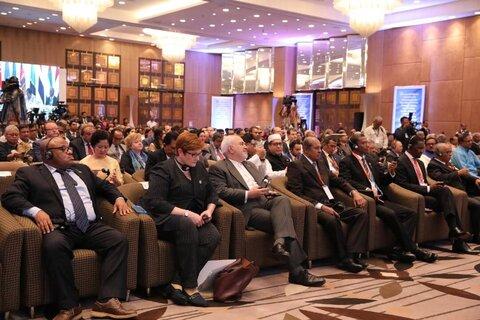 سومین اجلاس آیورا با حضور ظریف آغاز به کار کرد