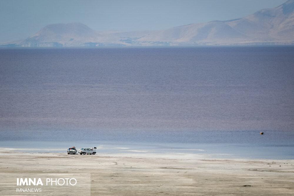 حجم آب دریاچه ارومیه به ۲.۷ میلیارد متر مکعب رسید