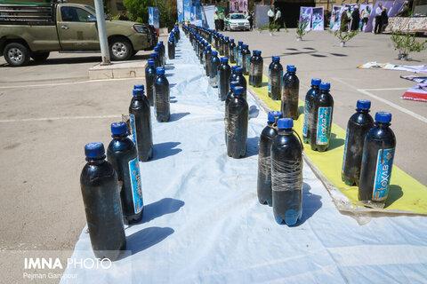 ۱.۸ تن انواع مواد مخدر در اصفهان کشف شد