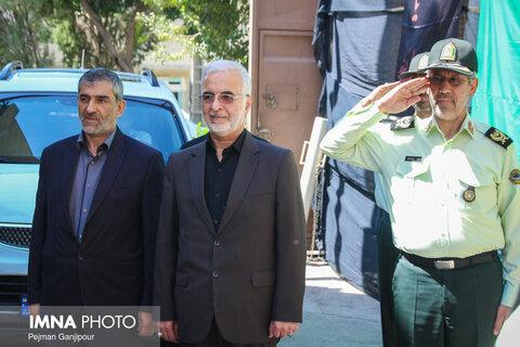 بازدید دبیر کل ستاد مبارزه با مواد مخدر از نمایشگاه کشفیات استان